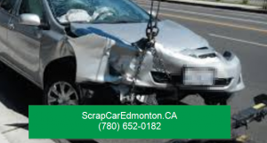 towing an accident car from edmonton